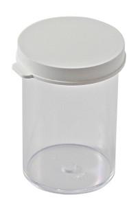 Snap-Cap Vials, Polystyrene, 20 dram (75mL), case/144