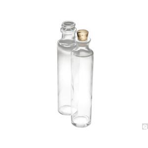 4oz (120mL) Clear Oil Sample Bottle, #6 Cork, case/144