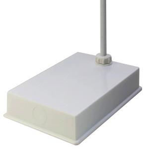 "Single Rod Retort Stand, Off-Center Rod, 6-3/4"" x 9-7/8"" x 2-1/16"""