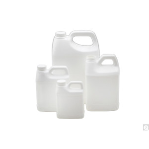 4L White HDPE F-Style Jug, 38-400 PP SturdeeSeal PE Foam Lined Caps, case/54