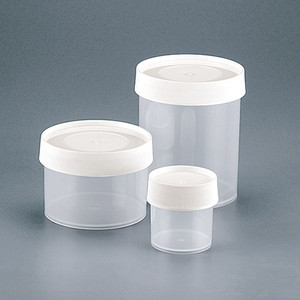 16oz Clarified PP Straight Sided Jar, 120mm White PP Closure