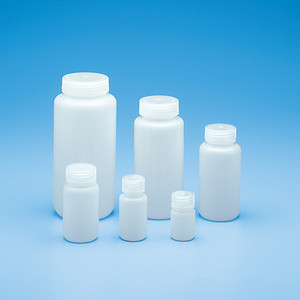 4oz (125mL) Wide Mouth HDPE Round, 38mm PP Linerless Leak-Proof Cap, Integral Seal Ring, case/72