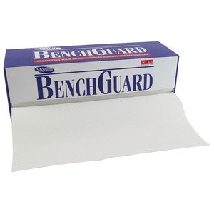 Bench Guard Absorbent Roll, Dispenser, 50 meters x 49cm