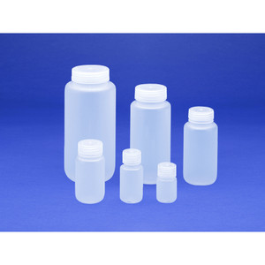 16oz (500mL) Wide Mouth PP Boston Round, 53mm PP Linerless Leak-Proof Cap, Integral Seal Ring, case/48