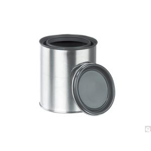 1 Gallon (128oz) (610 x 708) Epoxy Lined Paint Round Paint Can, Triple Tite Lid, case/36