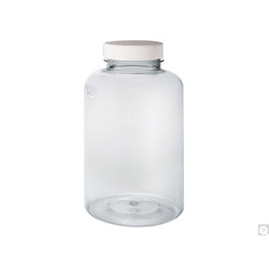 4oz (120mL) Clear Heavyweight (24 gram thickness) PET Bottle, 38-400 PP SturdeeSeal PE Foam Lined Caps, case/450