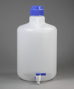 5 gallon Autoclavable PP Carboy with Spigot