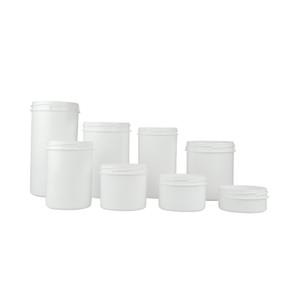1000mL White PP Storage Jar, 96.8mm opening, case/90