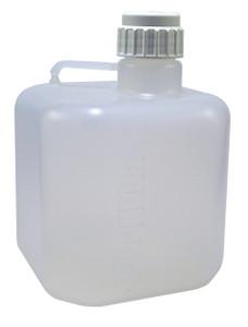 Heavy Duty Carboy, Autoclavable PP, Octagonal, 20 Liter