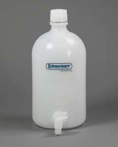 Carboy with Spigot, 2 gallon Polyethylene Aspirator Bottle