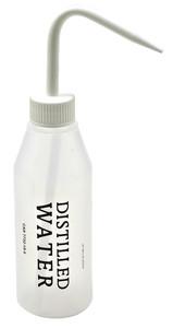 """Wash Bottles, 250mL, Labeled """"Distilled"""", pack/5"""