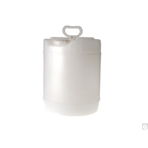 5 Gallon Natural HDPE Round Winpak, 70-400 Cap, UN Rated