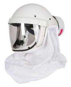 PureFlo PF50 ESM+ PAPR, Cleanroom Lab NIOSH Safety Respirator