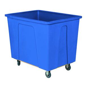 Blue Plastic Box Truck with 12 Bushels and 550 lb Capacity