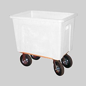 White Plastic Box Truck 8 Bushels, 450 lb Capacity
