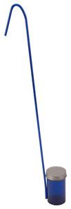 Dippa, Blue Polystyrene Dipper, Sterile, Metal Closure, 100mL, case/100