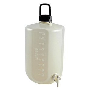 Carboy with Spigot, HDPE, Heavy Duty, 10 Liter