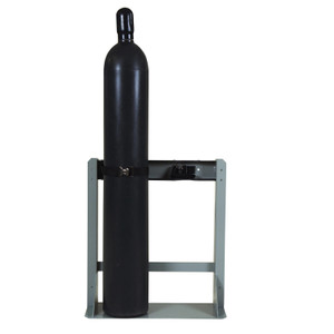 Gas Cylinder Stand, 2 Cylinder Capacity, Steel