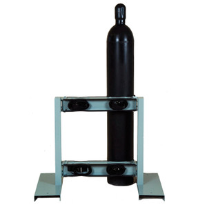Gas Cylinder Stand, 4 Cylinder Capacity, Back-to-Back, Steel