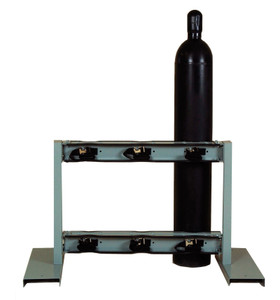 Gas Cylinder Stand, 6 Cylinder Capacity, Back-to-Back, Steel