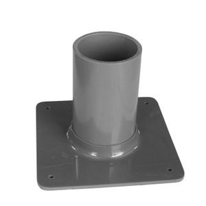 "Lecture Bottle Holder for (1) 3"" Gas Cylinder, Bench Mount"