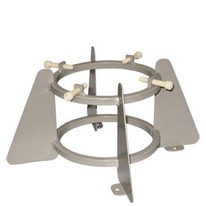 """Medical Oxygen Cylinder Holder, 1 Cylinder Capacity-5.75 to 6.75"""" Diameter"""