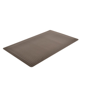 Anti-Fatigue Mat, Laminate, 479 Cushion Trax in Black