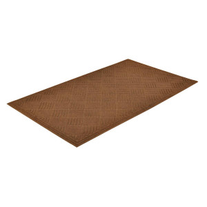 Indoor Entrance Mat, 151 Diamond CTE in Brown