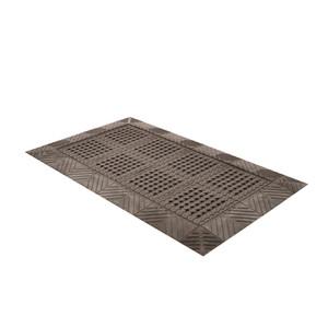 Anti-Fatigue Mat, 620 Diamond Flex-Lok PVC