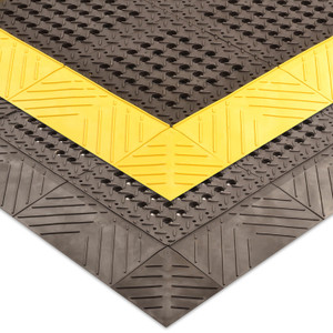 Anti-Fatigue Mat, Diamond Flex-Lok PVC Modular System
