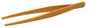 Tweezers, Sharp, Point, Yellow, 250mm, case/6
