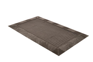 Anti-Fatigue Mat, 621 Diamond Flex-Lok Solid