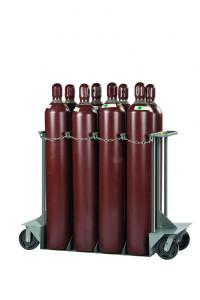 "Gas Cylinder Truck, 8 Cylinder Capacity, 24""x 60"" x 48"""