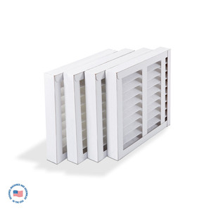 Replacement Final 60% Pleated Filter for S-987-2A, pack/4