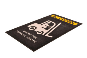 Indoor Entrance Mat, 194 Safety Message Mats