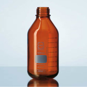 DURAN® PRESSURE PLUS Bottle Only, Amber, 100mL, GL45, case/10