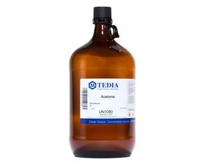 Acetone, Absolv Grade, 4 Liter Bottles, case/4