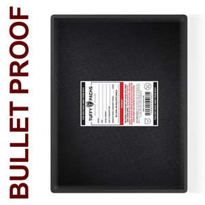 "Ballistic Shield for Briefcase, 11 x 14"" Bulletproof Laptop Case Insert"