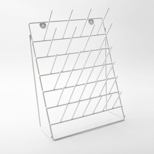 Benchtop Glassware Drying Rack with Free Standing Support