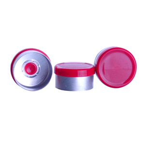 CompletePAK Replacement 13mm Sterile Red Flip Seals, case/230