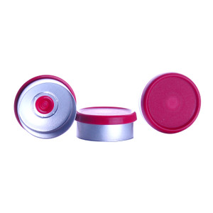 CompletePAK Replacement 20mm Sterile Red Flip Seals, case/220