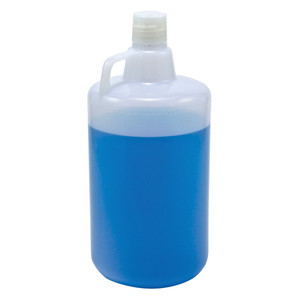 Jug, 1 gallon, LDPE, 38mm Closure, case/6