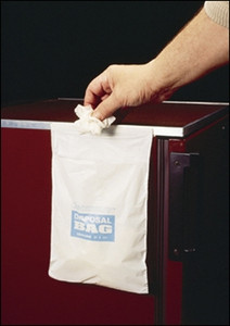 "Cleanware Waste Bags, 8"" x 10"" with Seal Autoclavable, case/50"