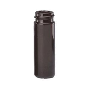 WHEATON® 5mL Borosilicate Glass V-Amber Vials, 20-400, No Caps, case/12