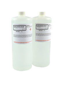 Hydrochloric Acid Solution, 1.0M, 1 Liter, pack/2