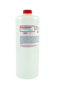 Phenolphthalein Solution, 1.0%, (Alcoholic), 1 Liter