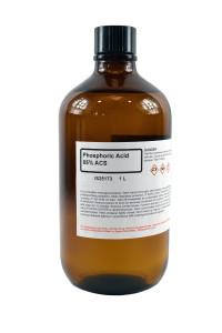 Phosphoric Acid, 85%, ACS Grade, (SS) 1 Liter