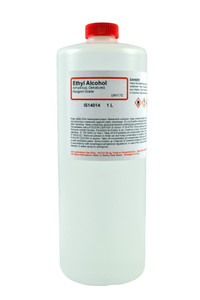 Ethyl Alcohol, Anhydrous, Denatured, Reagent Grade, 1 Liter
