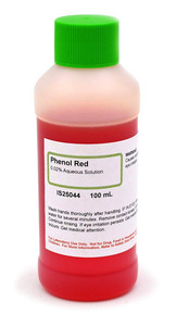 Phenol Red Solution, 0.02%, Aqueous, 100mL