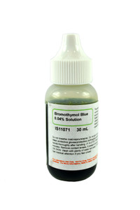 Bromothymol Blue Solution, 0.04%, (Aqueous), 30mL